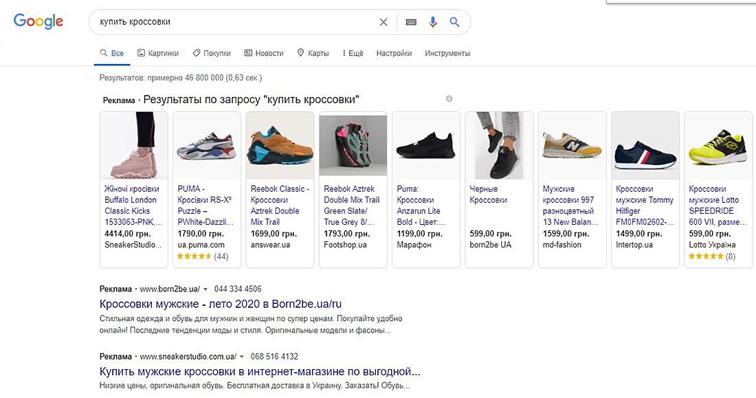 gshop Google Shopping: что можно и нужно оптимизировать