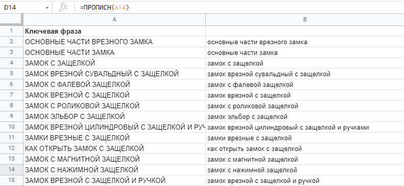 smn4 Роботи з семантикою: огляд функцій таблиць Google
